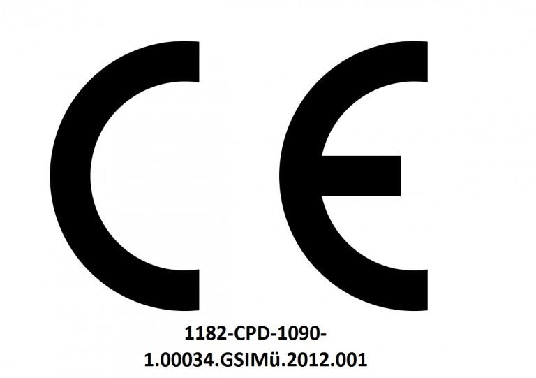 Logo CE con numero SIFA